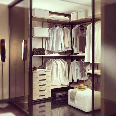 Dove e come creare una cabina armadio - Cabina armadio dimensioni minime ...