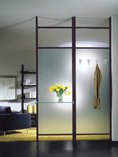 Interpareti pareti divisorie divisori attrezzati - Parete in legno per interni ...