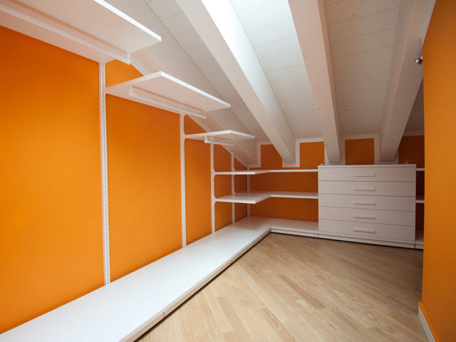 Cabina Armadio Mansarda Prezzi : Cabine armadio per mansarde