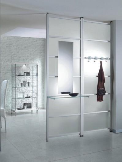 interpareti pareti divisorie divisori attrezzati. Black Bedroom Furniture Sets. Home Design Ideas