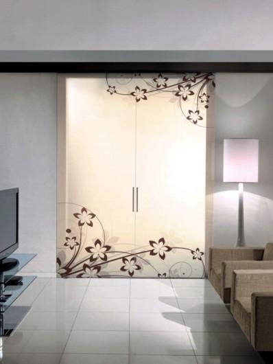 Porte - Porte su misura - Porte In vetro Scorrevoli esterno muro e ...