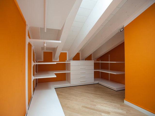 Cabine armadio per mansarde - Scaffali per cabine armadio ...