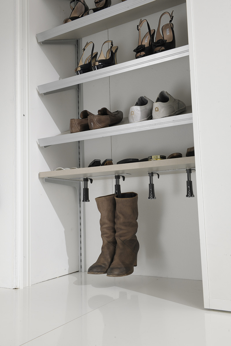 Scaffali Per Cabina Armadio cabina armadio per scarpe - kuboline